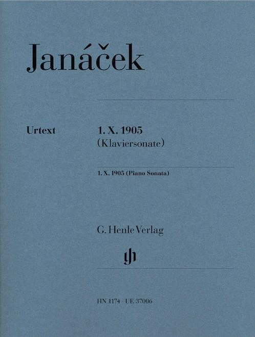 Piano - Janacek - 1. X. 1905 [HL:51481174]