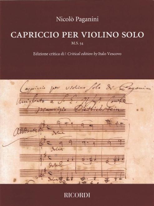 Violin - Paganini - Capriccio per violino solo [HL:50602180]