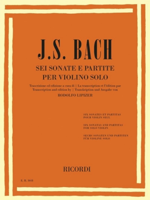 Violin - Bach - Six Sonatas & Partitas [HL:50602186]