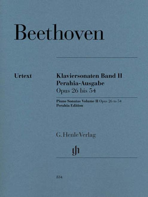 Beethoven, Piano Sonatas Volume II [HL:51480834]