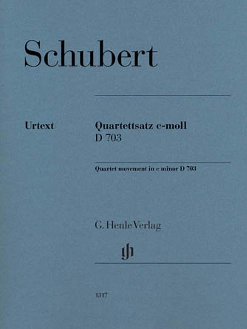 Schubert,String Quartet Movement (Quartettsatz) in C Minor, D. 703 [HL:51481317]