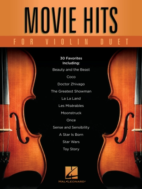 Two Violins - Movie Hits for Violin Duet [HL: 00299580]