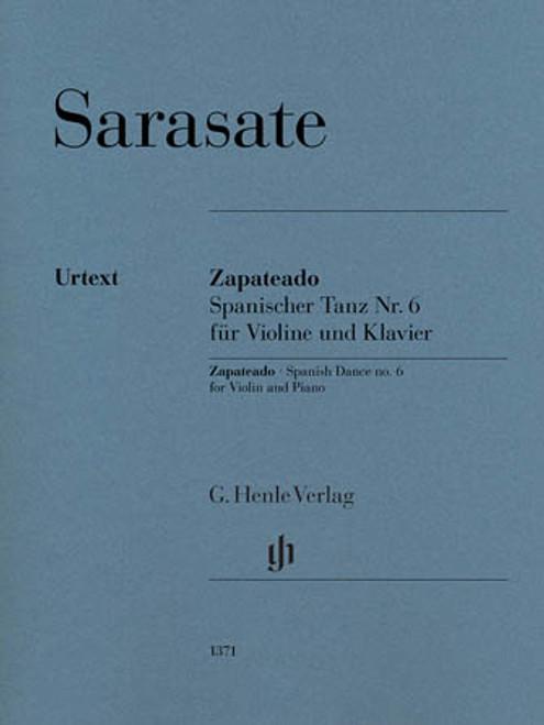 Violin - Sarasate - Zapateado Spanish Dance No. 6 for Violin and Piano [HL: 51481371]