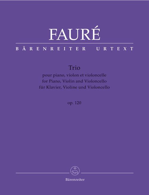 Fauré,Trio for Piano, Violin and Violoncello op. 120 N 194 [KGA:BA7902]