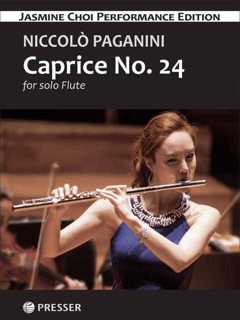 Flute - Paganini - Caprice No.24 [Presser: 114-41952]