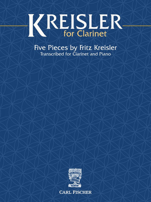 Clarinet - Kreisler - Five Pieces for Clarinet [CF:WF235]