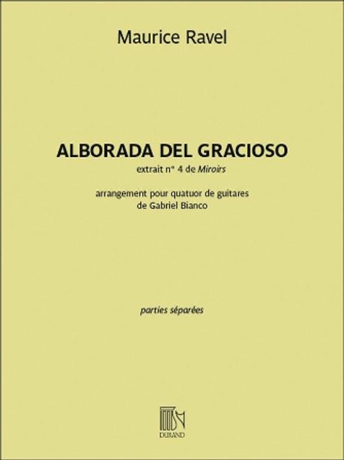 Guitar Quartet - Ravel - Alborada del Gracioso [HL: 50565962]