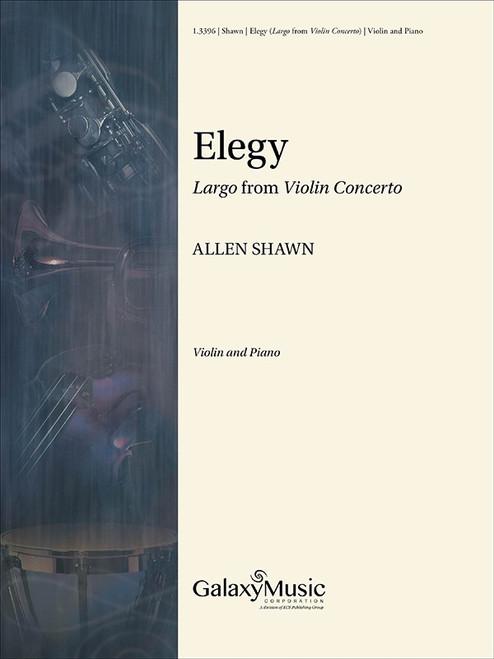 "Violin - Shawn - Elegy (""Largo"" from Violin Concerto) [Cant: 1.3396]"