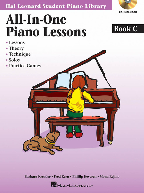 All-in-One Piano Lessons Book C [HL:002968519]