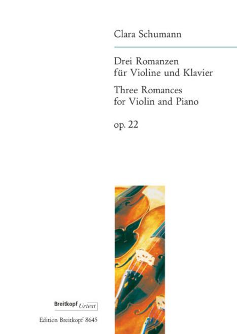 C.Schumann - 3 Romances Op. 22  [Breit: EB 8645]