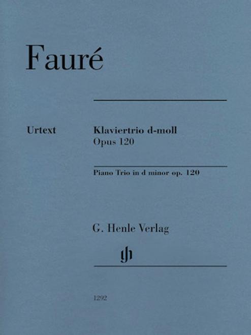 Faure - Piano Trio in D Minor Op. 120 Violin, Cello, Piano [HL:51481292]