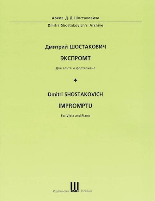 Shostakovich, Impromptu [HL:50601595]