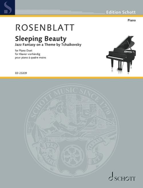 Rosenblatt: Sleeping Beauty Jazz Fantasy on a Theme by Tchaikovsky Piano 4 Hands