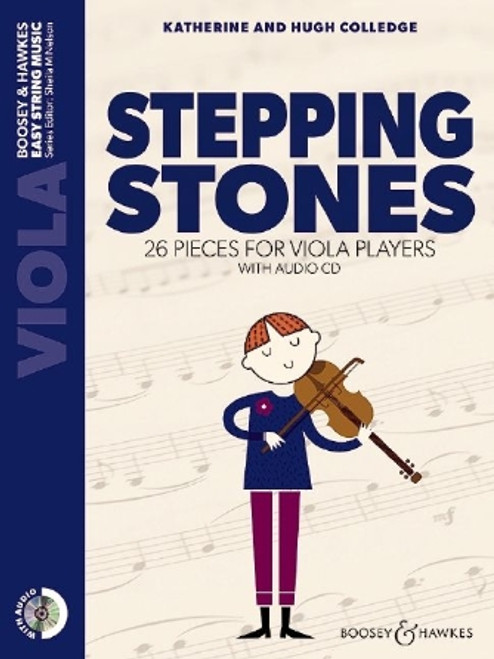 Stepping Stones 26 Pieces for Viola Players: Viola Part Only and Audio CD