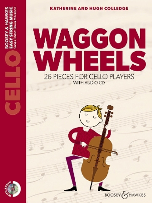 Waggon Wheels 26 Pieces for Cello Players with Audio CD  Cello Part Only and Audio