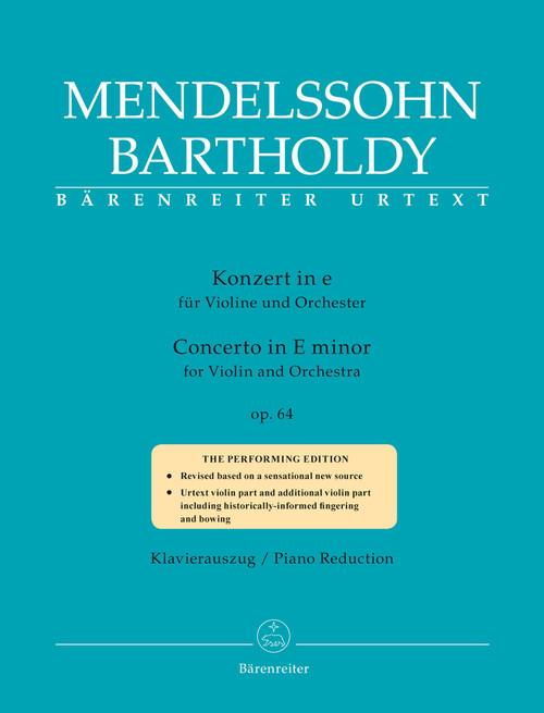 Mendelssohn: Violin Concerto in e minor [V] [Bar:9099-90]