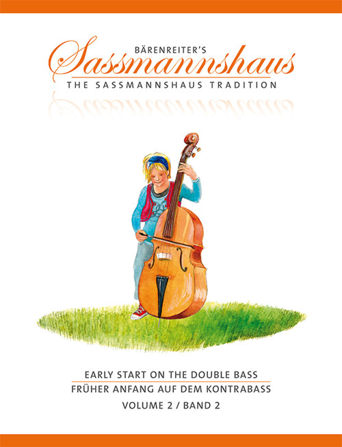 Sassmannshaus: Early Start on the Double Bass, Volume 2[Db st.]