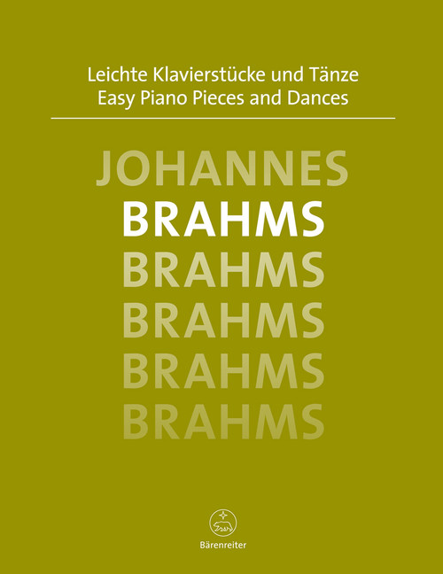 Brahms, Easy Piano Pieces and Dances[BAR:6566]