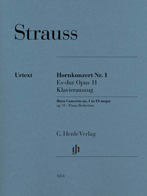 Strauss: Horn Concerto No.1 in Eb Maj Op.11[HL:51481253]