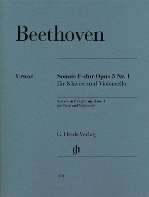 Beethoven: Cello Sonata in F Major, Op. 5, No. 1[HL:51481471]