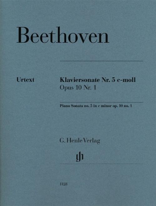 Beethoven: Piano Sonata No. 5 in C minor, Op. 10, No. 1