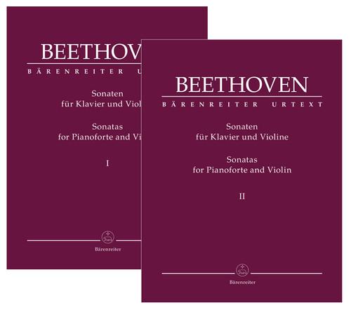 Beethoven:Sonatas for Pianoforte and Violin Volume I and Volume II[BA9036]