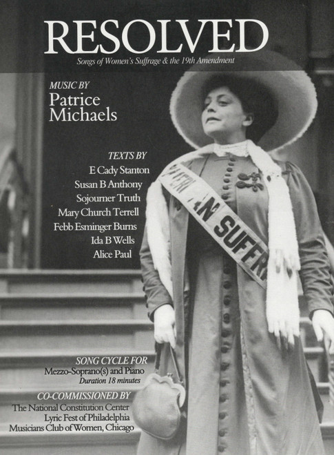 Michaels: Resolved- Songs of Women's Suffrage & the 19th Amendment