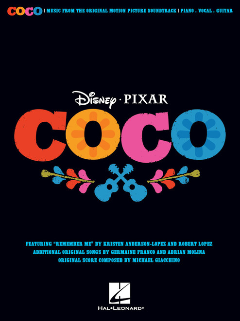 Disney/Pixar's Coco Music from the Original Motion Picture Soundtrack HL:253985
