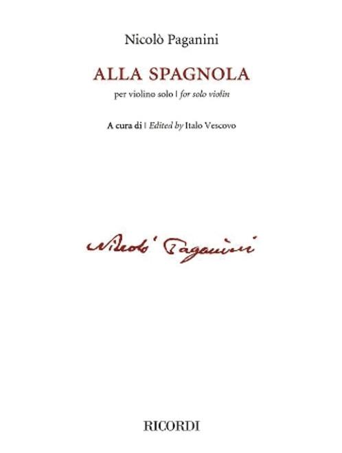 Paganini: Alla Spagnoia HL:50603580