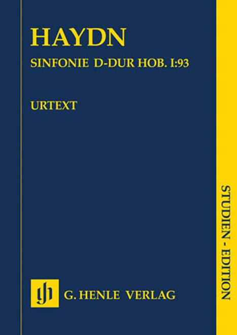 Symphony D Major Hob. I:93 Orchestra HL:51489061