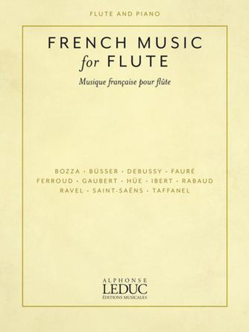 French Music for Flute [HL:50603282]