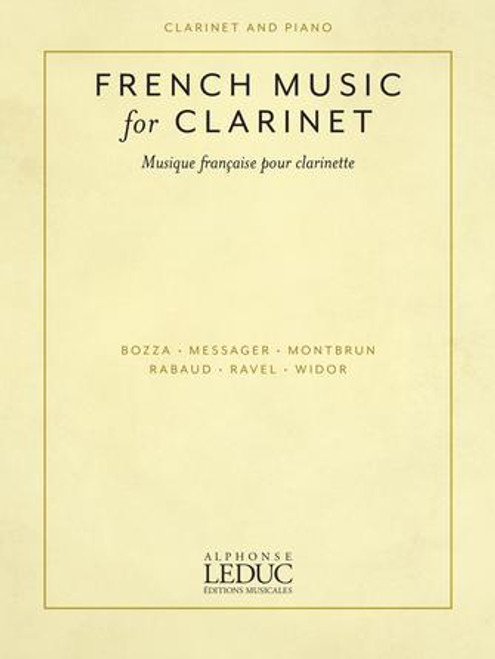 French Music for Clarinet [HL:50603271]