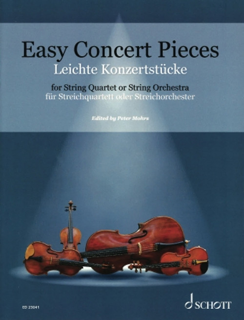 Easy Concert Pieces: 26 Easy Concert Pieces from 4 Centuries for String Quartet or Orchestra [HL:49046479]