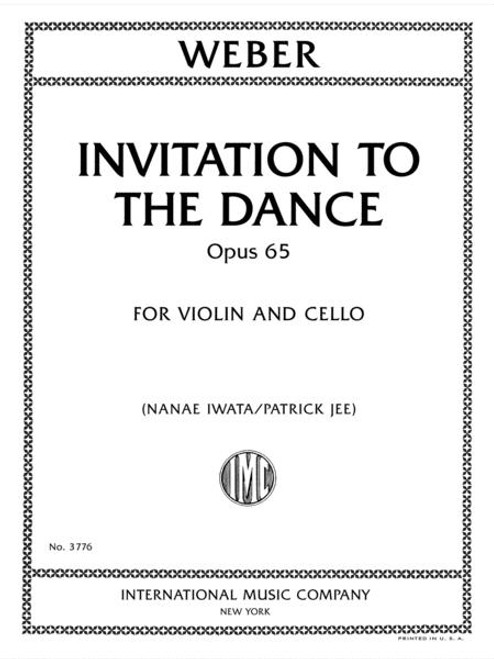 Weber: Invitation to the Dance, Opus 65, for Violin and Cello [Int:3776]