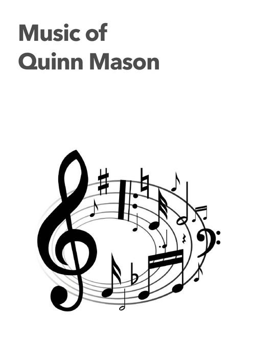 Mason: Bounce (2016, rev. 2019) for alto sax and piano