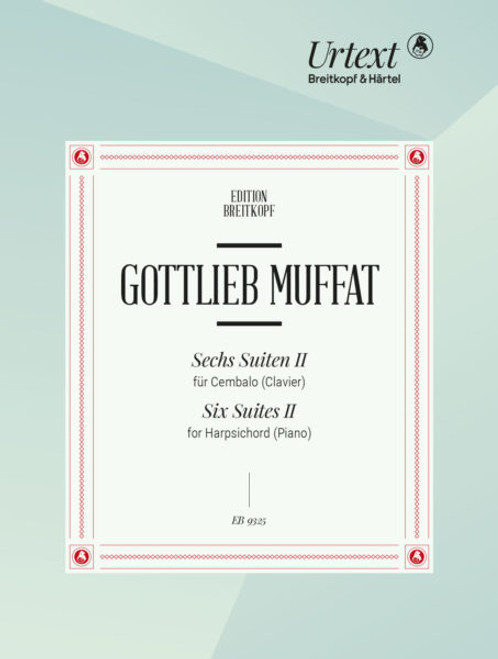 Muffat, Suites for Harpsichord [EB9325]