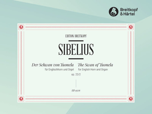 Sibelius, The Swan of Tuonela for English Horn and Organ op. 22 [EB9376]