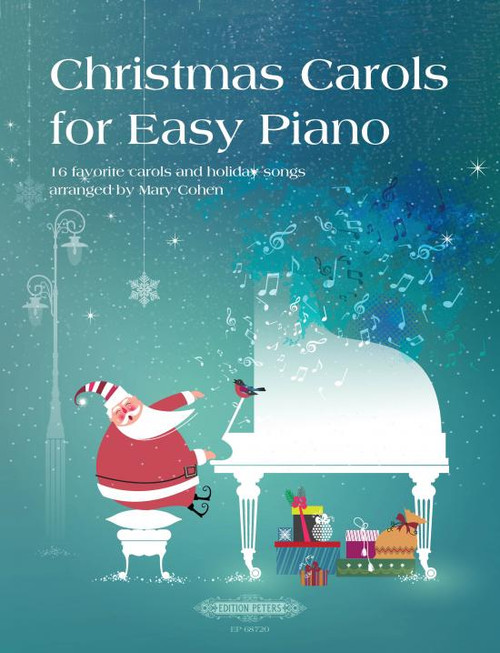 Christmas Carols for Easy Piano 16 favorite carols and holiday songs [Pet:EP68720]
