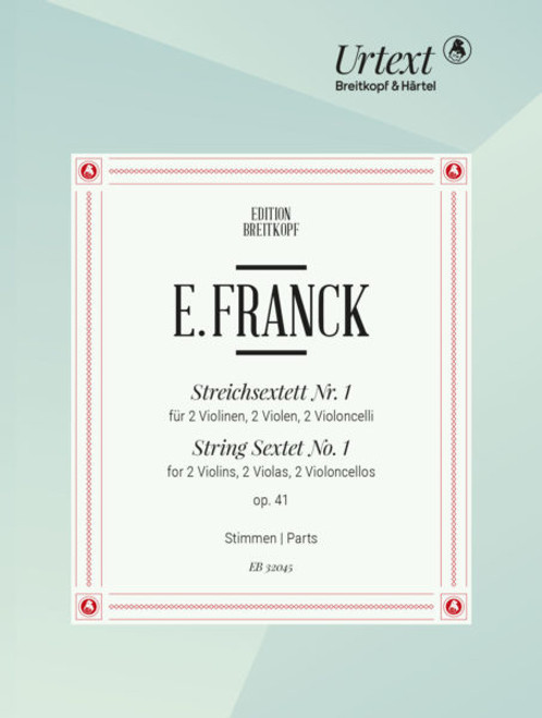Franck, String Sextet no.1 op.41 [EB32045]