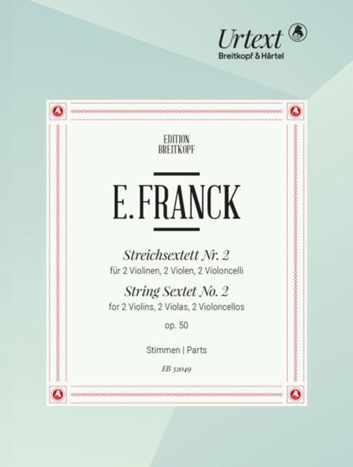 Franck, String Sextet no. 1 op.50[EB32049]