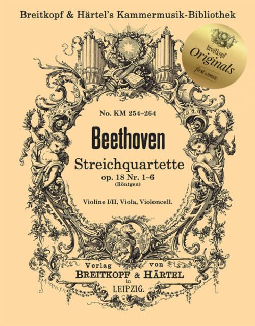 Beethoven, String Quartet opp. 132,133,135 [KM286]