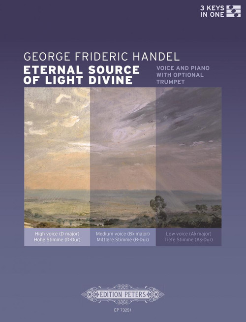 Handel, Eternal Source of Light Divine [Pet:EP73251]
