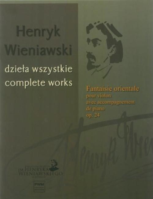Wieniawski, Fantaisie Orientale op. 24 [HL:00359828]