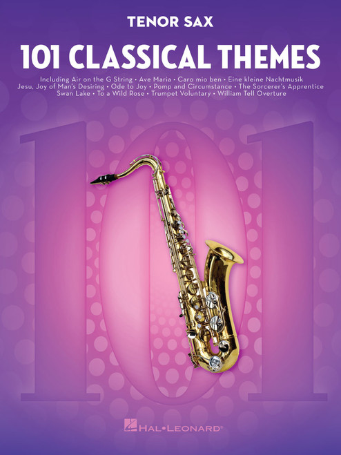 101 Classical Themes for Tenor Sax [HL:155319]