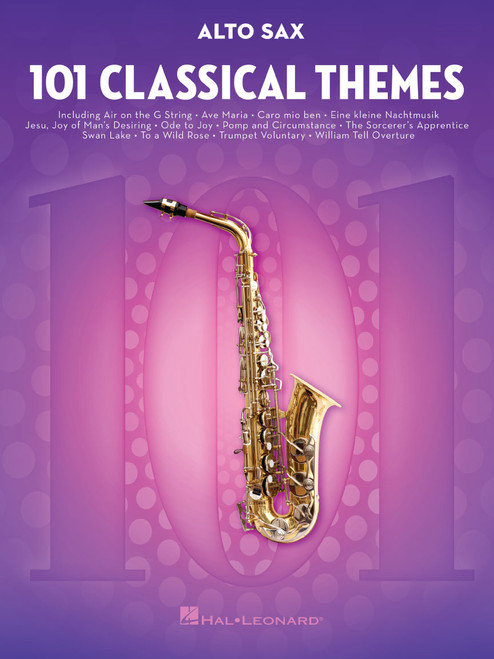101 Classical Themes for Alto Sax [HL:155318]