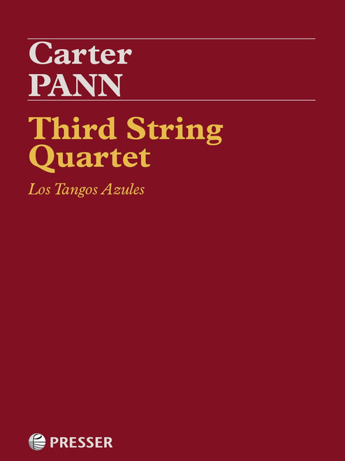 Pann, Third String Quartet: Los Tangos Azules [CF:114-41969]