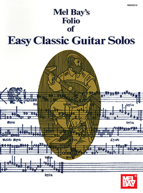 Easy Classic Guitar Solos [Mel Bay:93212]