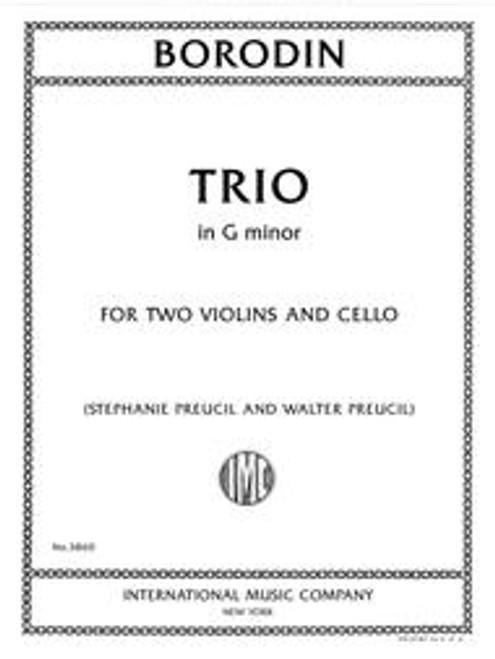 Borodin, Trio in G minor for two violins and cello [Int: 3860]