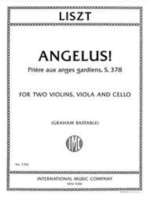 Liszt, Angelus! Priere aux anges gardiens, S. 378 for String Quartet [Int:3766]