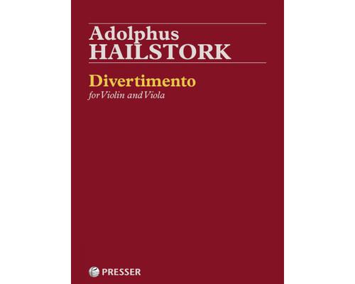 Hailstork, Divertimento for Violin and Viola [CF:114-41201]